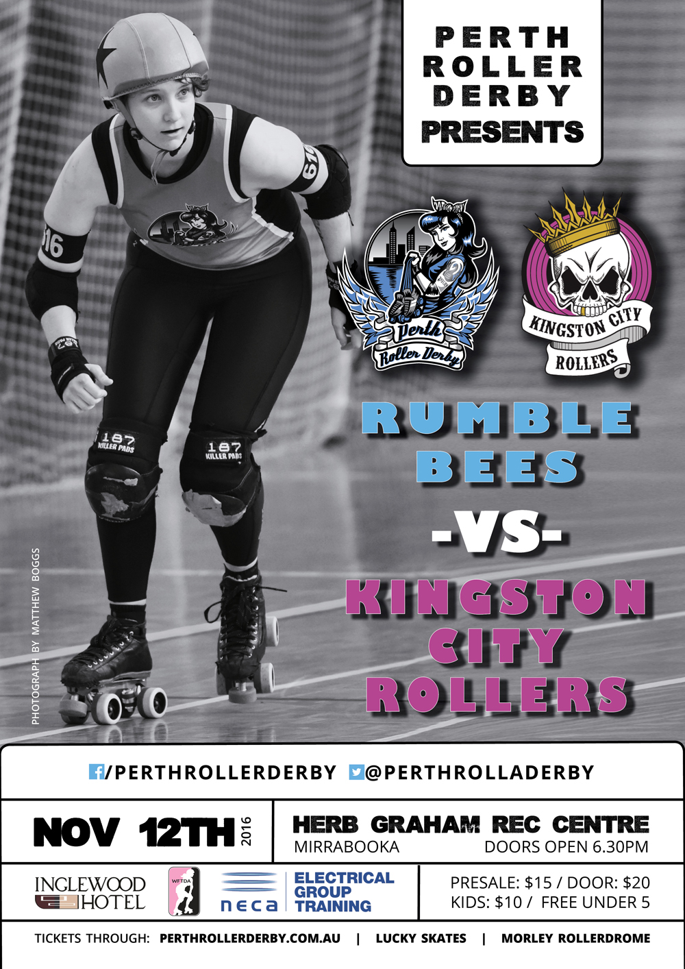 Rumble Bees vs Kingston City Rollers
