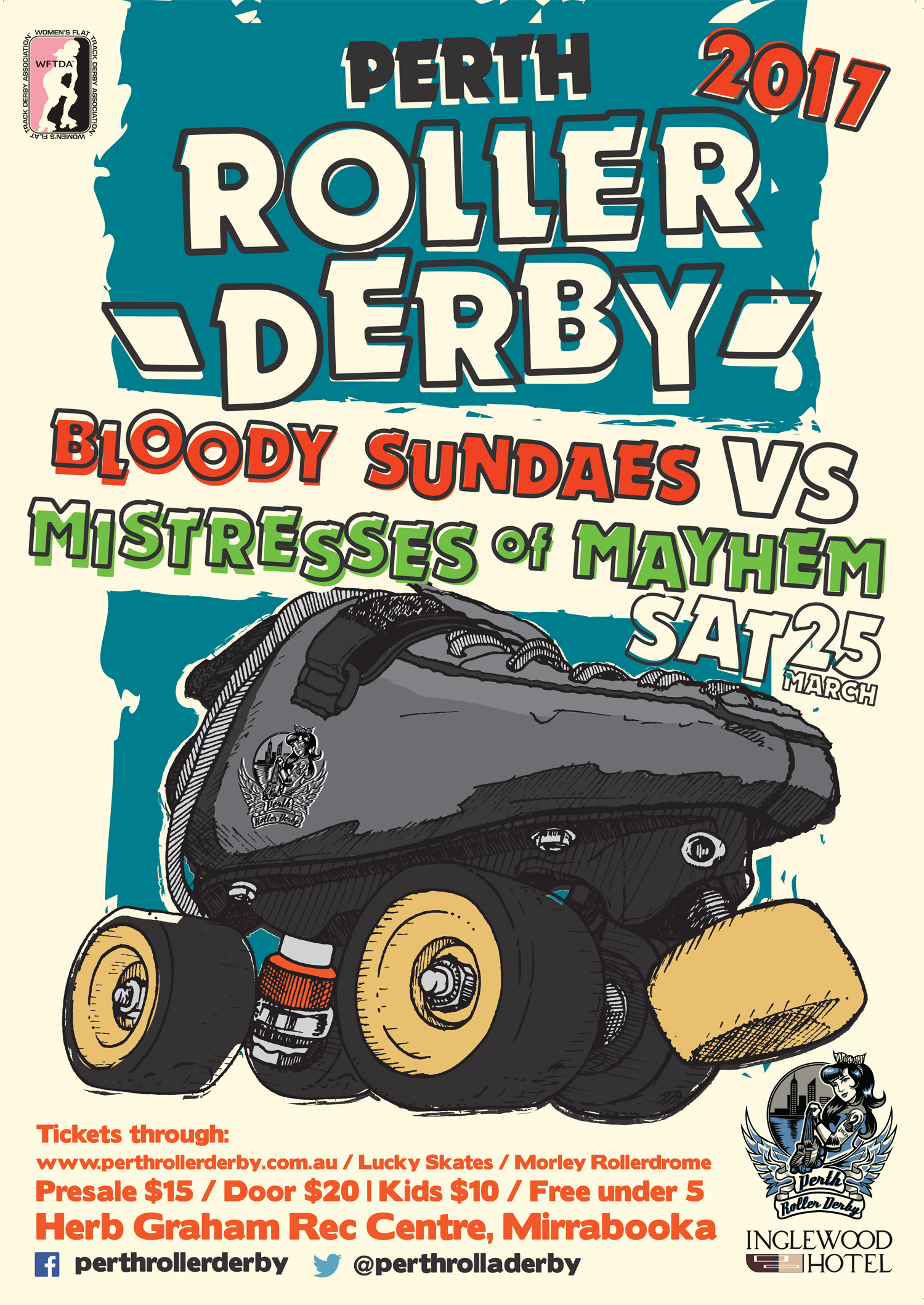 Perth Roller Derby 2017 Season Opener