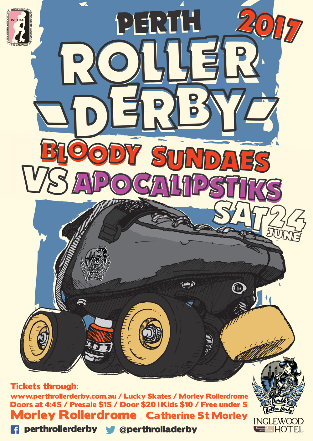 Perth Roller Derby 2017 : Game #3