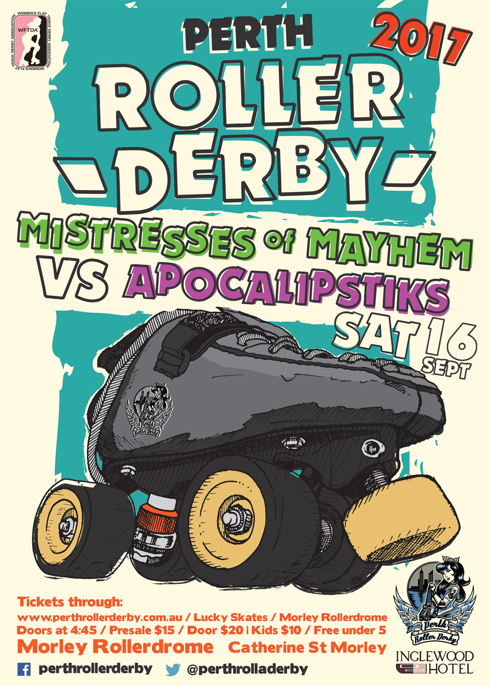 Perth Roller Derby 2017 : Game #5