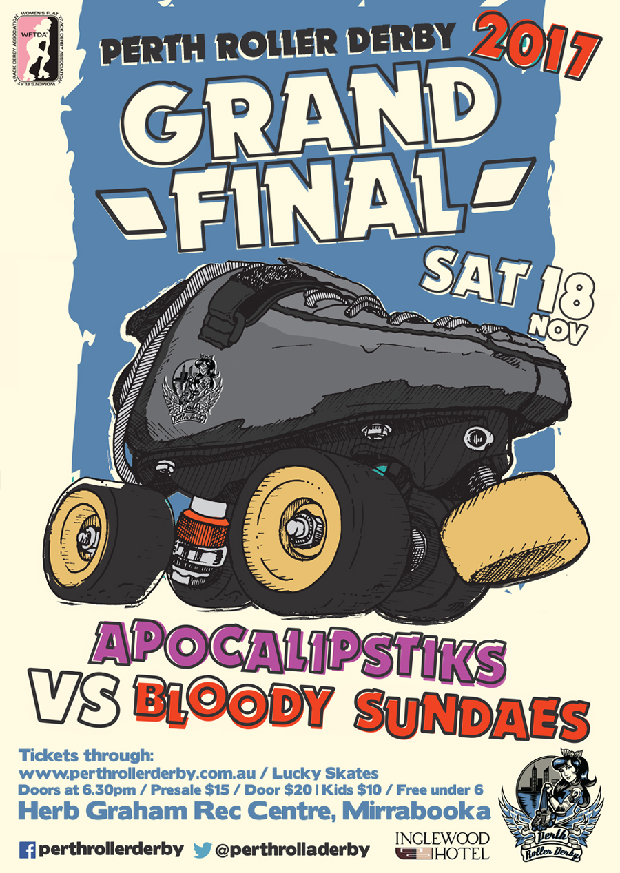 Perth Roller Derby 2017 GRAND FINAL