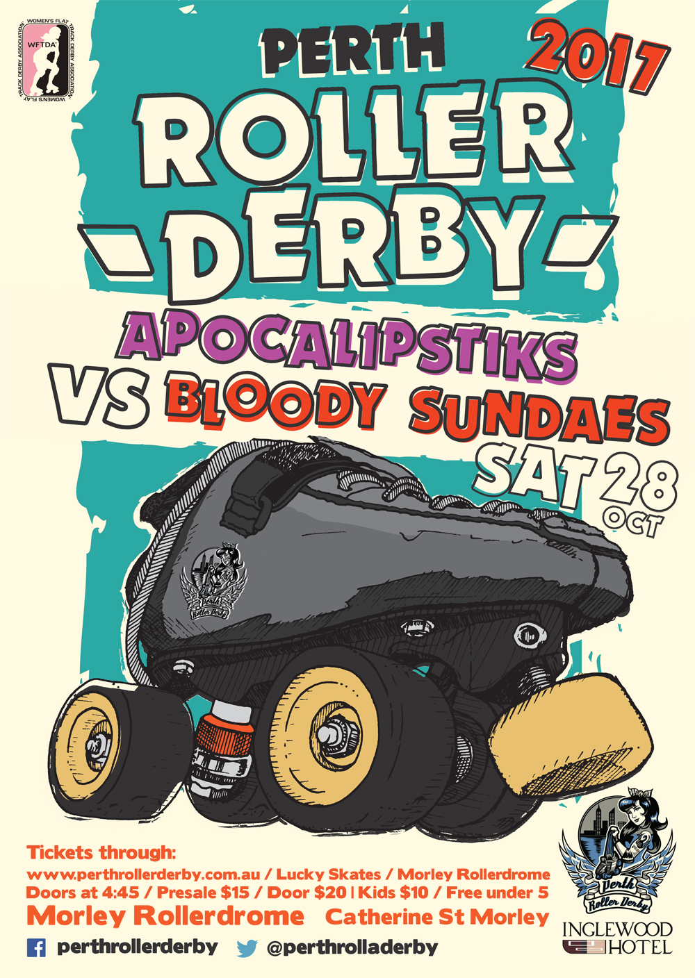 Perth Roller Derby 2017 : Game #6